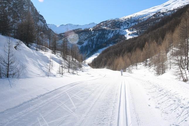- Crévoux-C - Activités-En hiver-En ski de fond-La grande boucle-2008 01 (006)
